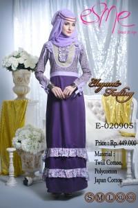 desain baju pesta modern Pusat-Gamis-terbaru-Esme-Elegant-Feeling-E-020905