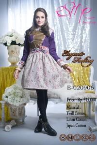 baju muslim pesta wanita Pusat-Gamis-terbaru-Esme-Elegant-Feeling-E-020906