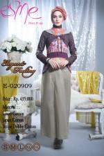 busana muslim brokat Pusat-Gamis-terbaru-Esme-Elegant-Feeling-E-020909