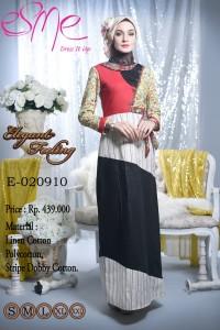 model busana muslim pesta Pusat-Gamis-terbaru-Esme-Elegant-Feeling-E-020910