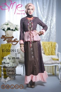 baju muslim pesta modern Pusat-Gamis-terbaru-Esme-Elegant-Feeling-E-020911