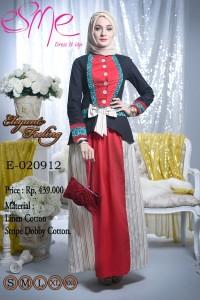 dress muslim untuk pesta Pusat-Gamis-terbaru-Esme-Elegant-Feeling-E-020912