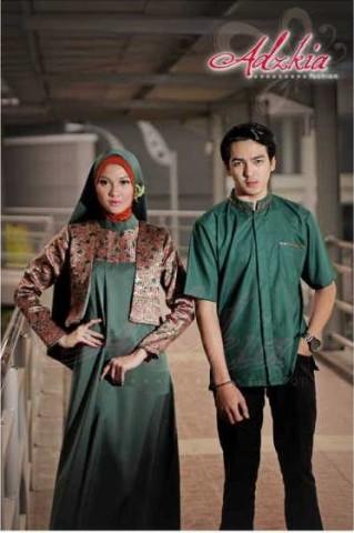 baju muslim modis Pusat-Gamis-terbaru-Jacinda-Rafa-By-Adzkia-Fashion-Green