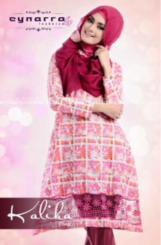 model baju pesta yg cantik Pusat-Gamis-terbaru-New-Kalika-By-Cynarra-Pink