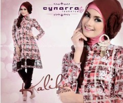 model baju pesta cantik Pusat-Gamis-terbaru-New-Kalika-By-Cynarra-Purple