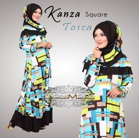 model gaun pesta yang cantik Pusat-Gamis-terbaruKanza Square By Anonimoda-Tosca
