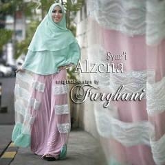 Baju-pesta-muslim-elegan-Pusat-gamis-terbaru-alzena-by-farghani-pink