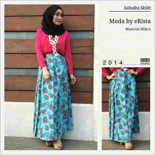 Sahara Skirt Blue,