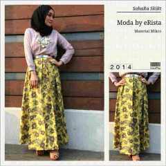 Sahara Skirt Hijau Lemon