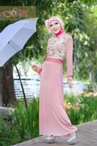 baju-muslim-elegan-pusat-gamis-terbaru-khalsha-by-fitria-style-baby-pink