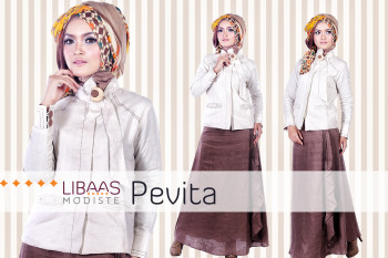 Distributor Busana Muslim Semarang Pevita By Libassmodiste
