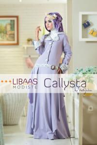 Gamis Terbaru Modern Callysta by Libassmodiste