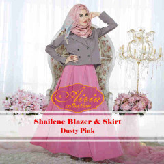 Grosir Baju Muslim Sailene by Airia Dusty Pink