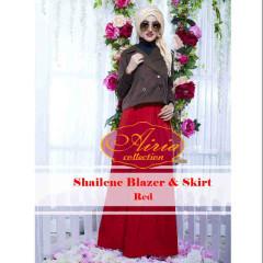 Grosir Baju Muslim Sailene by Airia Red