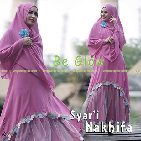 Grosir Busana Muslim Terbaru Nakhifa by Be Glow Fanta