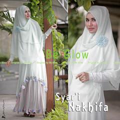 Grosir Busana Muslim Terbaru Nakhifa by Be Glow Hijau Mint