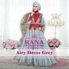 Pusat Gamis Terbaru Airy Dress by Rana Grey