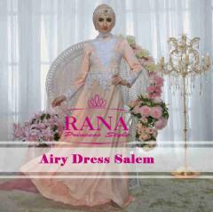 Pusat Gamis Terbaru Airy Dress by Rana Salem
