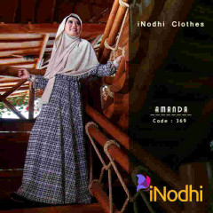 Pusat Gamis Terbaru Amanda by Inodhi 369