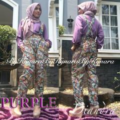 Pusat Gamis Terbaru Diandra by Kynara Purple