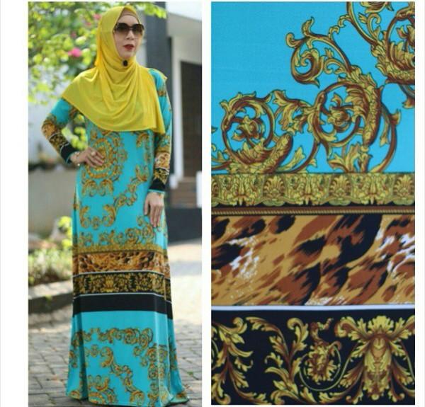 Dress Roberto Cavali Tosca Baju Muslim Gamis Modern