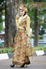 Pusat Gamis Terbaru Ghamira by Fitria Style Gold