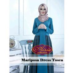 Pusat Gamis Terbaru Mariosa Dress by Airia Tosca