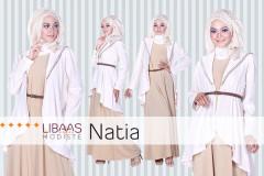Pusat Gamis Terbaru Natia Dress by Libaasmodisty Peach