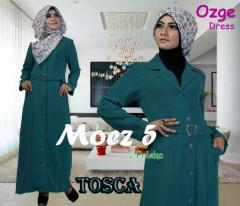 Pusat Gamis Terbaru Ozge Dress Moez 5 by Friska Tosca