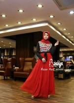 Pusat Gamis Terbaru Roza by Rabiya Red