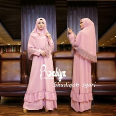 Pusat Gamis Terbaru Shadiqoh Syari by Rabiya Pink