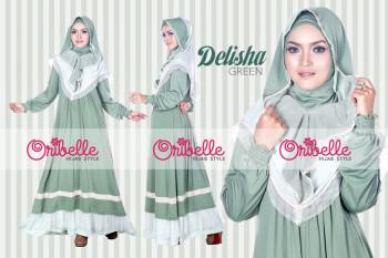 Pusat Grosir Busana Muslim Delisha by Oribelle Green
