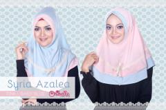 Pusat grosir Jilbab Syiri Azalea by Oribelle Pink-Baby Blue
