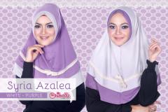 Pusat grosir Jilbab Syiri Azalea by Oribelle White-Purple
