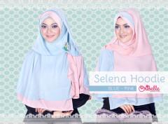 Toko Grosir Semarang Selena Hoodie by Oribelle Pink-Baby Blue