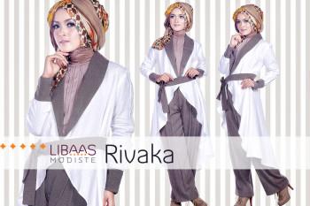 Trend Model Gamis Muslim Rivaka by Libassmodiste