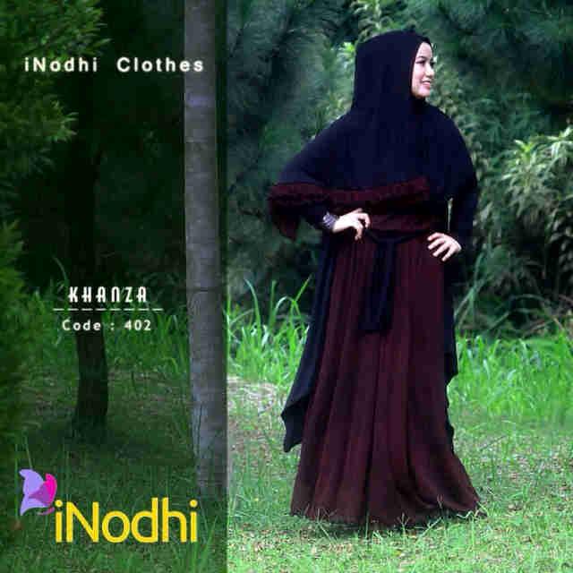 Busana Muslim Wanita Syar'i Khanza by Inodhi 402