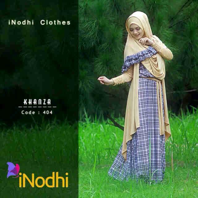 Busana Muslim Wanita Syar'i Khanza by Inodhi 404
