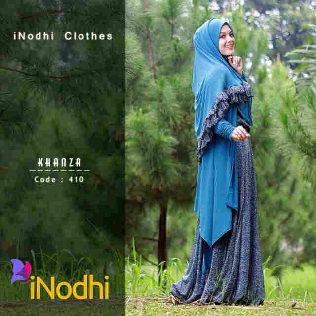 Busana Muslim Wanita Syar'i Khanza by Inodhi 410