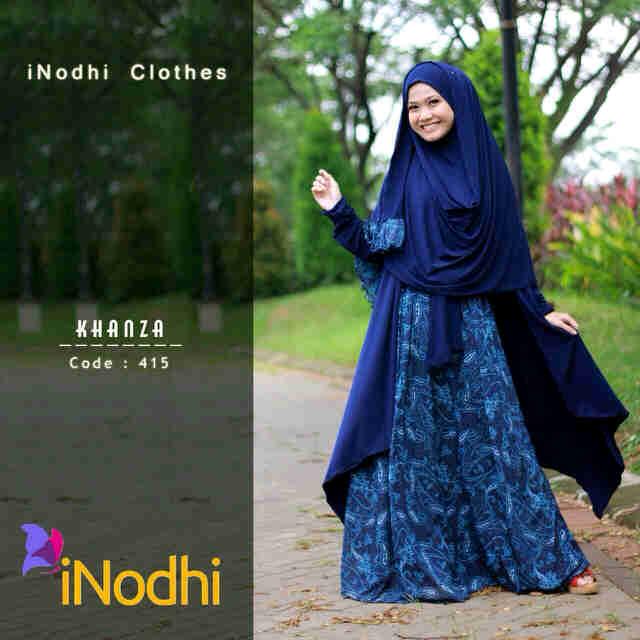 Busana Muslim Wanita Syar'i Khanza by Inodhi 415