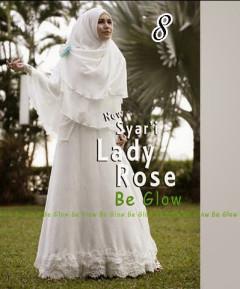 Gamis Muslim Wanita Modern Lady Rose by Be Glow 8