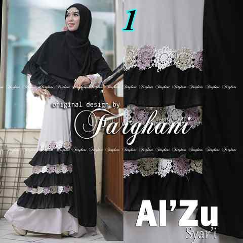 Grosir Baju Muslim Al Zu Syar'i by Farghani 1