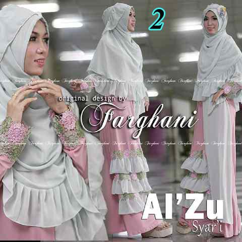 Grosir Baju Muslim Al Zu Syar'i by Farghani 2