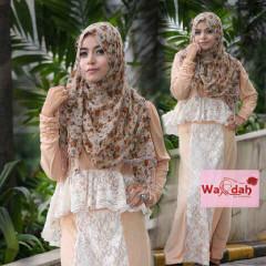 Grosir Baju Muslim Wanita Emery by Wardah Cream