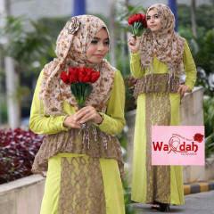Grosir Baju Muslim Wanita Emery by Wardah Hijau