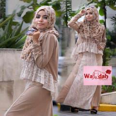 Grosir Baju Muslim Wanita Emery by Wardah Mocca