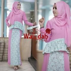 Grosir Baju Muslim Wanita Emery by Wardah Pink
