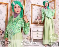Grosir Busana Muslim Kerja Balimo Carissa Pale Green