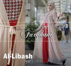 Grosir Busana Muslim Syar'i Terbaru Al Libash by Farghani Cream