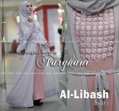 Grosir Busana Muslim Syar'i Terbaru Al Libash by Farghani Grey